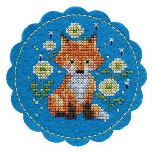Набор для вышивания Дивная вишня «Лисёнок»
