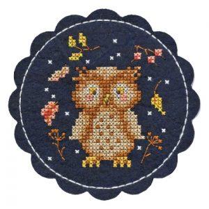 Набор для вышивания Дивная вишня «Сова»