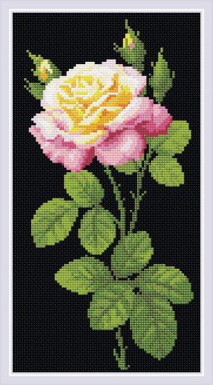 Алмазная мозаика Риолис «Дивный цветок»