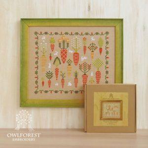 Набор для вышивания OwlForest «Морковный лес»