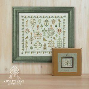 Набор для вышивания OwlForest «Совиный лес»