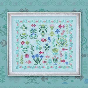 Набор для вышивания OwlForest «Подводный сад»
