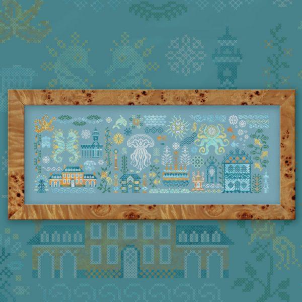 Набор для вышивания OwlForest «Атлантида»