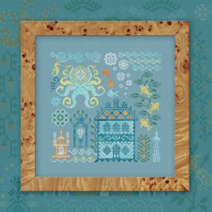 Набор для вышивания OwlForest «Атлантида. Осьминог»