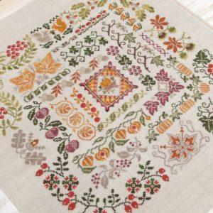 Набор для вышивания OwlForest «Щедрая осень»
