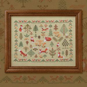 Набор для вышивания OwlForest «Лисичкин лес»
