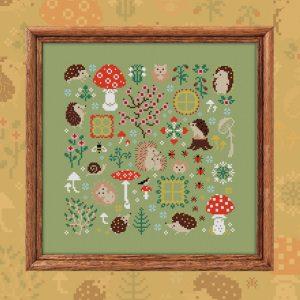 Cхема OwlForest «Ежиная полянка»
