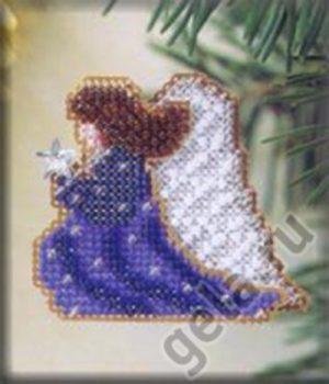 Набор для вышивания бисером MILL HILL «Сверкающий ангел»