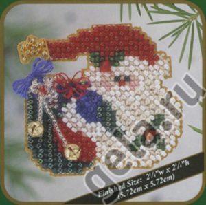 Набор для вышивания бисером MILL HILL «Мешок Санты»