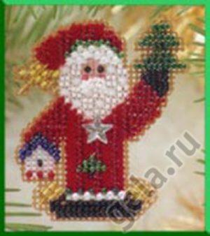 Набор для вышивания бисером MILL HILL «Санта-волшебник»