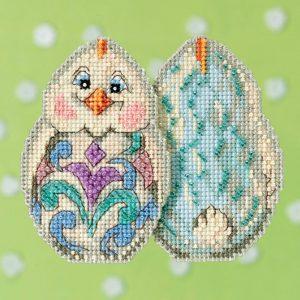 Набор для вышивания бисером MILL HILL «Белый цыпленок»