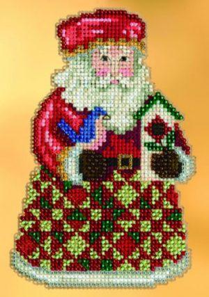 Набор для вышивания бисером MILL HILL «Уютное Рождество с Сантой»