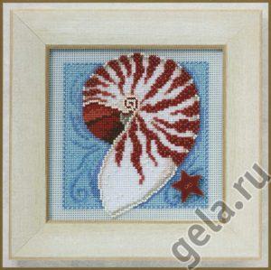 Набор для вышивания бисером MILL HILL «Морская раковина»