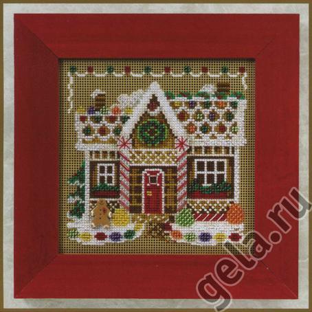 Набор для вышивания бисером MILL HILL «Пряничный домик»