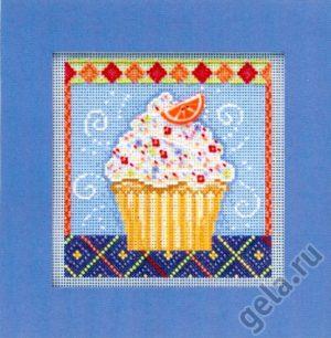 Набор для вышивания бисером MILL HILL «Ванильное пирожное»