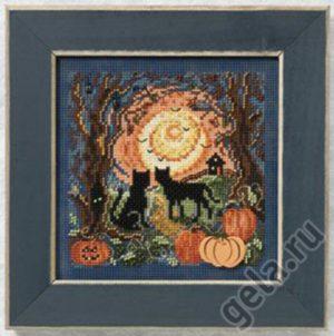 Набор для вышивания бисером MILL HILL «Котята в лунном свете»