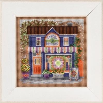 Набор для вышивания бисером MILL HILL «Буфет на улице Мэйн»