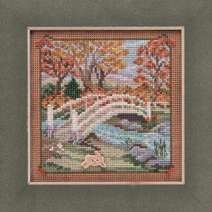 Купить набор для вышивания бисером MILL HILL «Пешеходный мост» MH141925