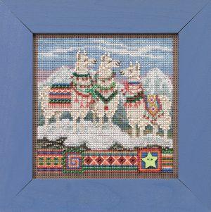 Набор для вышивания бисером MILL HILL «Фа, Ла, Ла-Лама»