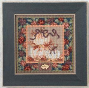 Набор для вышивания бисером MILL HILL «Белые тыквы»