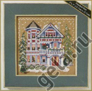 Набор для вышивания бисером MILL HILL «Дом королевы Анны»