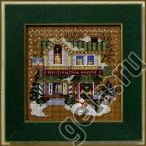 Набор для вышивания бисером MILL HILL «Швейный магазин»