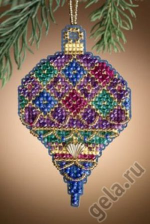 Набор для вышивания бисером MILL HILL «Блестящий праздник»