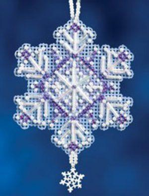 Набор для вышивания бисером MILL HILL «Аметист кристалл»