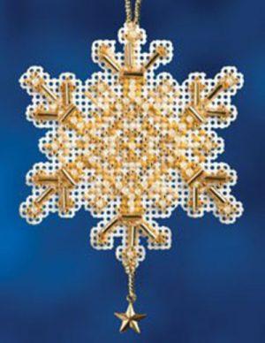 Набор для вышивания бисером MILL HILL «Золотой кристалл»