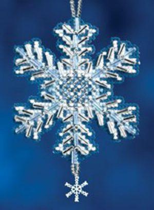 Набор для вышивания бисером MILL HILL «Ледяной кристалл»