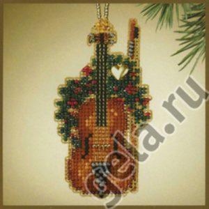 Набор для вышивания бисером MILL HILL «Скрипка»