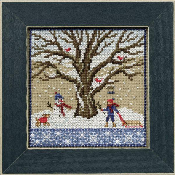Набор для вышивания бисером MILL HILL «Зимний дуб»