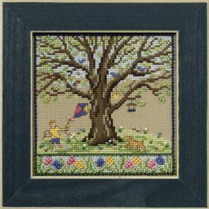 Набор для вышивания бисером MILL HILL «Весенний дуб»