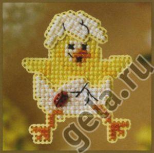 Набор для вышивания бисером MILL HILL «Цыпленок»