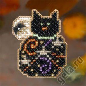 Набор для вышивания бисером MILL HILL «Волшебный котенок»