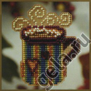 Набор для вышивания бисером MILL HILL «Горячая кружка»