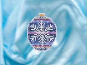 Набор для вышивания бисером MILL HILL «Королевская снежинка»