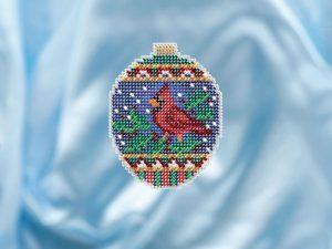 Набор для вышивания бисером MILL HILL «Малиновый птенец»