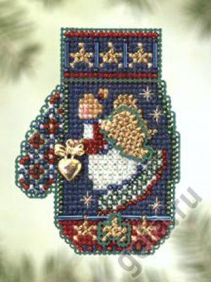 Набор для вышивания бисером MILL HILL «Сердце ангела»