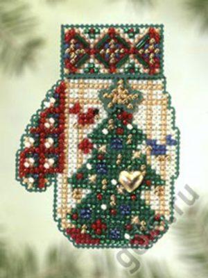 Набор для вышивания бисером MILL HILL «Ёлочка»