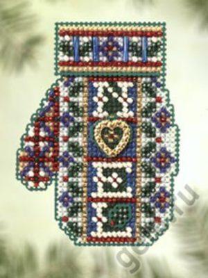 Набор для вышивания бисером MILL HILL «Рождественское сердечко»