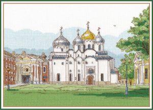 Набор для вышивания Овен «Софийский собор. Великий Новгород»