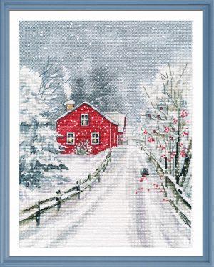 Набор для вышивания Овен «Чародейка зима»