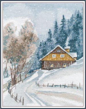 Набор для вышивания Овен «Зимняя тишина» ov1242