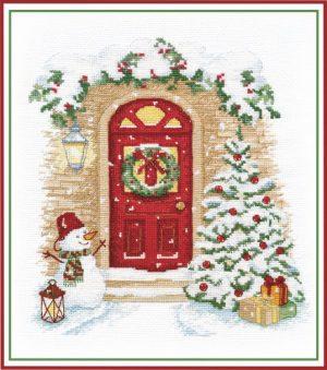 Набор для вышивания Овен «Праздник в дверь стучится» ov1249