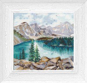 Набор для вышивания Овен «Озеро Морейн»