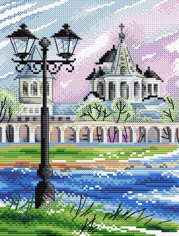 Набор для вышивания М.П. Студия «Великий Новгород»