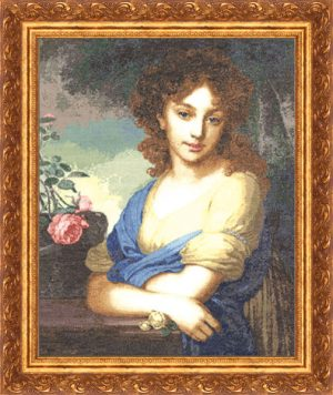 Набор для вышивки крестом Золотое Руно «Портрет Е.А. Нарышкиной»