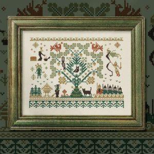 Набор для вышивания OwlForest «Лукоморье»