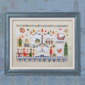 Набор для вышивания OwlForest «Сказка о царе Салтане»